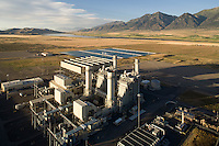 Currant Creek gas-to-electric power, Mona, UT aerial