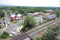 Downtown Crozet, VA.. Photo/Andrew Shurtleff