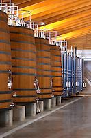 Fermentation tanks. Chateau Brane Cantenac, Margaux, Medoc, bordeaux, France