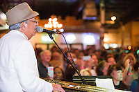Little Henry Lee performs at the Ponderosa Stomp in New Orleans on October 3, 2015.