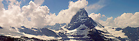the Matterhorn mountain peak - Swiss Alps - Switzerland