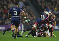 Stade Francais Paris' Sergio Parisse <br /> <br /> Photographer Rachel Holborn/CameraSport<br /> <br /> European Rugby Challenge Cup Final - Gloucester Rugby v Stade Francais Paris - Friday 12th May 2017 - BT Murrayfield, Edinburgh<br /> <br /> World Copyright &copy; 2017 CameraSport. All rights reserved. 43 Linden Ave. Countesthorpe. Leicester. England. LE8 5PG - Tel: +44 (0) 116 277 4147 - admin@camerasport.com - www.camerasport.com