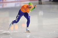 SCHAATSEN: CALGARY: Olympic Oval, 10-11-2013, Essent ISU World Cup, 5000m, Koen Verweij (NED),  ©foto Martin de Jong