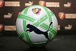 16 January 2009: The Puma King WPS Official Match Ball. The 2009 inaugural Womens Pro Soccer (WPS) Draft was held at the Convention Center in St. Louis, Missouri in conjuction with the National Soccer Coaches Association of America's annual convention.