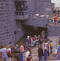 Castle Dracula on Marine Pier in Wildwood, NJ 1969 End of the Water Ride