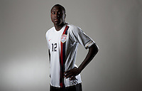 Josmer Altidore. U20 men's national team portrait photoshoot before the start of the FIFA U-20 World Cup in Canada. June 22, 2007.