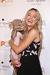 Actress Katrina Bowden Has Fun With Pumpkin at the 2015 ASPCA Young Friends Benefit