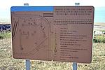 Placard Of Omaha Beach