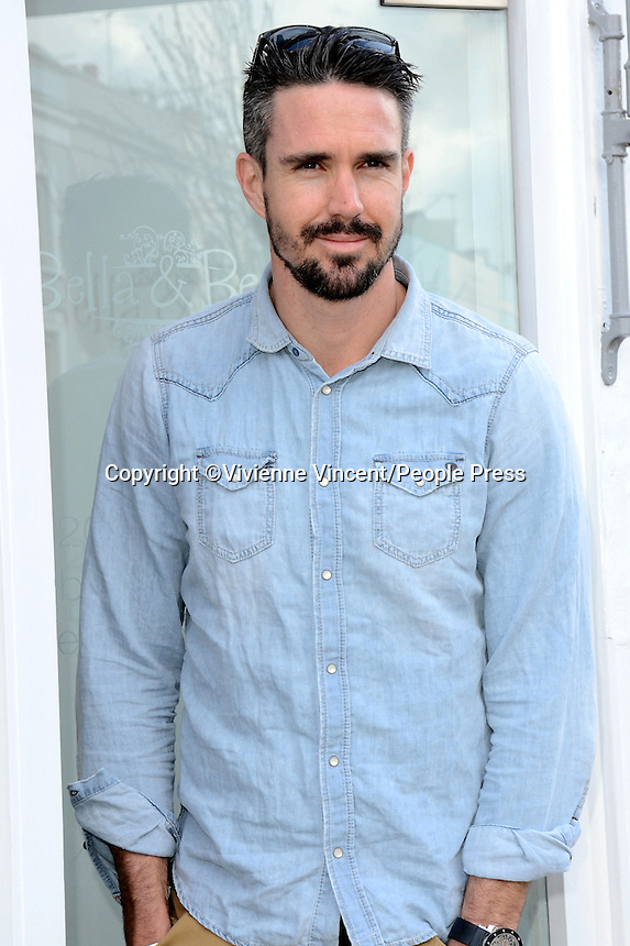 Press and VIP launch of 'Bella and Beau' - a new children's hair salon owned by Jessica Taylor and Kevin Pietersen in Notting Hill, London on March 22nd 2014<br /> <br /> Photo by Vivienne Vincent