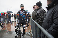 Stijn Devolder (BEL/Veranda's Willems-Crelan) pre race<br /> <br /> Dwars door West-Vlaanderen 2017 (1.1)
