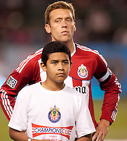 CD Chivas USA defender/Captain Jimmy Conrad (12). Sporting KC defeated CD Chivas USA 3-2 at Home Depot Center stadium in Carson, California on Saturday March 19, 2011...