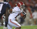 Alabama wide receiver Darius Hanks (15) vs. Ole Miss at Vaught-Hemingway Stadium in Oxford, Miss. on Saturday, October 14, 2011. Alabama won 52-7.