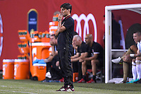 Chicago, IL - Wednesday July 27, 2016:  Bayern Munich play AC Milan in the 2016 International Champions Cup, played at Soldier Field.  AC Milan defeated Bayern Munich in penalty kicks by the score of 5-4 after a 3-3 regulation draw.