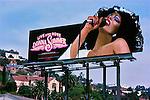 Donna Summer billboard on the Sunset Strip circa 1979