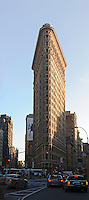 THE FLATIRON BUILDING, New York City, New York, designed by.Daniel H. Burnham &amp; Co. in 1902