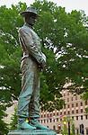 General William Tecumseh Sherman Monument, Cavalry Soldier, Carl Rohl-Smith 1903, Sherman Plaza, Washington DC