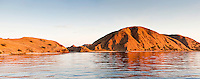 Tourism is now a major business in the Komodo National Park.  Divers visit the park using liveaboard boats operating out of Bali, or from the port of Labuan Bajo on Lombok.  The Komodo National Park is home to the unique Komodo Dragon, but also has some remarkable marine life.  Cold upwellings from the Indian Ocean to the south bring plenty of nutrients, providing food for a spectacular array of different species.