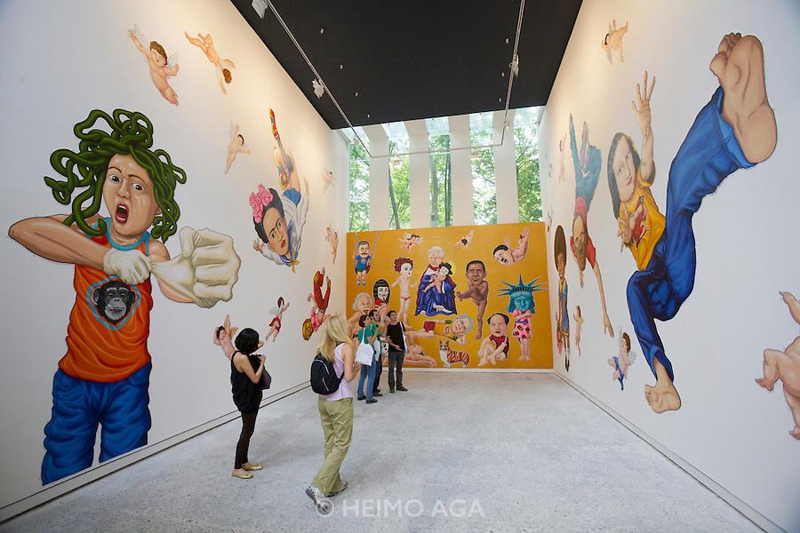 "54th Biennale of Venice..ILLUMInazioni - ILLUMInations.Giardini, Venezuelan Pavillion..Francesco Bassim, ""Gran Interior"", 2011."