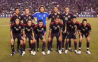 Mexico national team starting eleven. The national teams of Mexico and Venezuela played to a 1-1 draw in an International friendly match at  Qualcomm stadium in San Diego, California on  March 29, 2011...