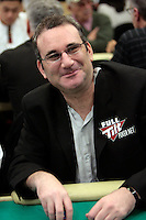 28 February 2009: Pro Full Tilt poker player during the 7th Annual WPT World Poker Tour Invitational at the Commerce Casino in Los Angeles, CA. Players compete for poker glory and a  piece of the $200,000 prize pool. Celebrity and Pro card players in action.