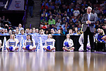 GREENVILLE, SC - MARCH 17: Head coach Roy Williams of the University of North Carolina watches the on-court action during the 2017 NCAA Men's Basketball Tournament held at Bon Secours Wellness Arena on March 17, 2017 in Greenville, South Carolina. (Photo by John Joyner/NCAA Photos via Getty Images)
