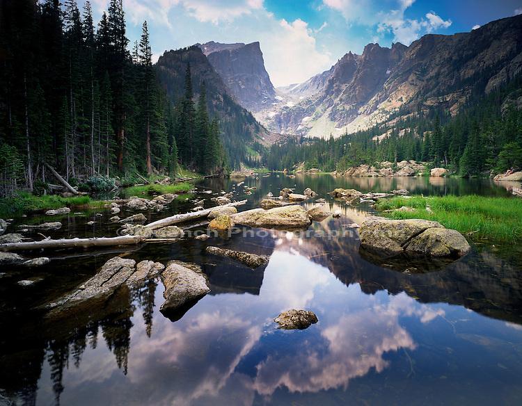 Emerald Lake, Hallett Peak  Rocky Mountain National Park