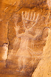 Largo Canyon petroglyphs, New Mexico.