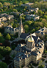 May 16, 2011; Main Quad aerial..Photo by Matt Cashore/University of Notre Dame