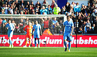 Stoke City's Marko Arnautovic looks dejected after Swansea City's 2nd goal, scored by Tom Carroll (not in picture)<br /> <br /> Photographer Kevin Barnes/CameraSport<br /> <br /> The Premier League - Swansea City v Stoke City - Saturday 22nd April 2017 - Liberty Stadium - Swansea<br /> <br /> World Copyright &copy; 2017 CameraSport. All rights reserved. 43 Linden Ave. Countesthorpe. Leicester. England. LE8 5PG - Tel: +44 (0) 116 277 4147 - admin@camerasport.com - www.camerasport.com