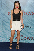"""NEW YORK, NY - June 21: Esther Zynn attends the NEw York premiere for """"The Shallow"""" at the Loews AMC on June 21, 2016   in New York City .  Photo Credit: John Palmer/ MediaPunch"""