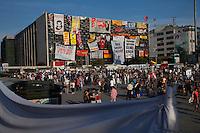 Istnbul - proteste in piazza Taksim