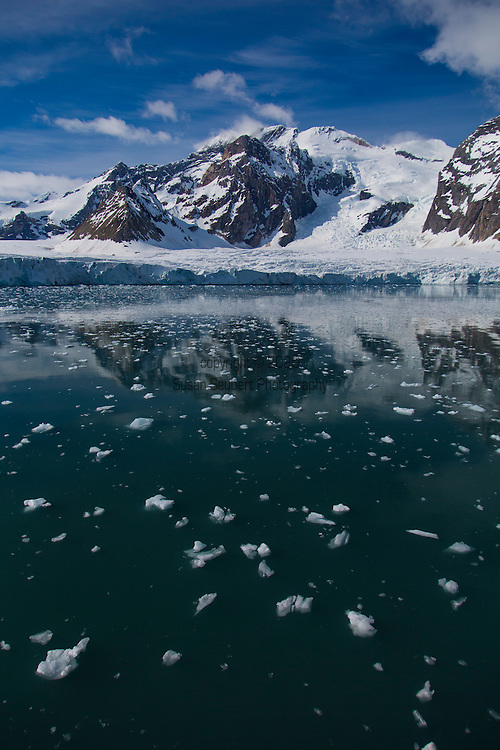 Wildlife viewing from the National Geographic Explorer in Svalbard, Norway off the coast of Spitzbergen