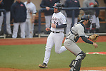 Ole Miss' Sikes Orvis (24) scores vs. UT-Martin at Oxford-University Stadium in Oxford, Miss. on Wednesday, February 20, 2013. Ole Miss won 15-2 to improve to 4-0.