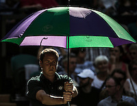 AMBIENCE<br /> <br /> The Championships Wimbledon 2014 - The All England Lawn Tennis Club -  London - UK -  ATP - ITF - WTA-2014  - Grand Slam - Great Britain -  6th July 2014. <br /> <br /> &copy; AMN IMAGES