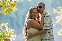 Heather & Josh's engagemen session at Canonsburg Lake iin Canonsburg, PA on June 6, 2014.