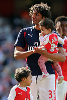 Mohamed Elneny of Arsenal after Arsenal vs Everton, Premier League Football at the Emirates Stadium on 21st May 2017