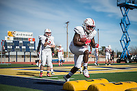 Stanford Football Sun Bowl Practice Day Two, December 27, 2016