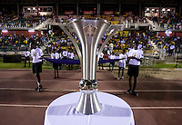 CONCACAF U-17 Trophy. The United States defeated Canada, 3-0, during the final game of the CONCACAF Men's Under 17 Championship at Catherine Hall Stadium in Montego Bay, Jamaica.