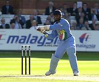 .13/07/2002.Sport - Cricket -NatWest Series Final- Lords.England vs India.Harbajan Singh.