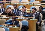 General Assembly 70th session:  62nd plenary meeting<br /> 1. Question of Palestine [item 38]<br /> (a) Report of the Committee on the Exercise of the Inalienable Rights of the Palestinian People (A/70/35)<br /> (b) Report of the Secretary-General (A/70/354)<br /> (c) Draft resolutions (A/70/L.10, A/70/L.11, A/70/L.12 and A/70/L.13)<br /> 2. The situation in the Middle East [item 37]<br /> (a) Report of the Secretary-General (A/70/353)<br /> (b) Draft resolutions (A/70/L.14 and A/70/L.17)