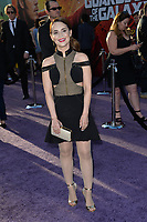 Rosanna Pansino at the world premiere for &quot;Guardians of the Galaxy Vol. 2&quot; at the Dolby Theatre, Hollywood. <br /> Los Angeles, USA 19 April  2017<br /> Picture: Paul Smith/Featureflash/SilverHub 0208 004 5359 sales@silverhubmedia.com
