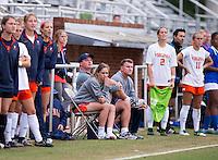 Charlottesville, VA - September 27, 2015:  Virginia defeated Duke 1-0 during a ACC conference match at Klockner Stadium.