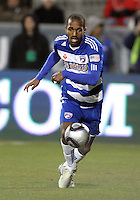 Atiba Harris#16 of FC Dallas during MLS Cup 2010 at BMO Stadium in Toronto, Ontario on November 21 2010. Colorado won 2-1 in overtime.