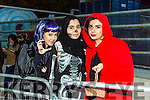Enjoying the KNOCKNAGOSHEL Halloween festival on Sunday were Hessa Salah, Smryam Alairm, Sarai Ali