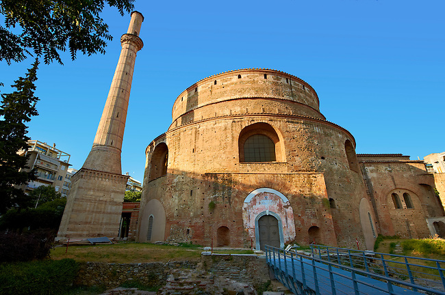 4th century Roman rotunda Church of Agios Georgios or the ...