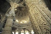 Adinath temple, Ranakpur, Rajasthan, India, 2011