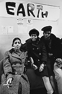 October 1970 --- Teenagers and members of the East Harlem Federation Youth Association at a youth center in New York in 1970. --- Image by © JP Laffont