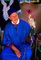 Falconer, The Medina, Marrakech, Morocco