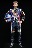 REDBULL RENAULT GERMAN DRIVER, SEBASTIAN VETTEL. .Melbourne 16/03/2013 .Formula 1 Gp Australia.Foto Insidefoto.ITALY ONLY .Posato Ritratto Pilota