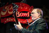 Mike Waggoner performs at the Ponderosa Stomp in New Orleans on October 3, 2015.